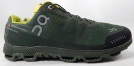 On Running Cloudventure Size 12.5 M (D) EU 47.5 Men's Running Shoes Green Yellow