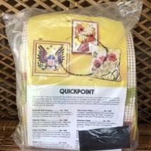 Vintage Artcraft Concepts Quickpoint Unassembled Project FLOWER BASKET K... - $19.99