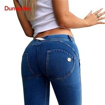 womens clothing Skinny Slim Push Up Long Denim Pencil Pants Casual Sexy Elastic  - $17.27+