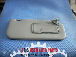 2008 MITSUBISHI LANCER GRAY RIGHT INTERIOR SUN VISOR
