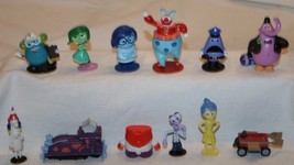 Disney Pixar Vinyl Toys 12 pcs Replacement Parts Game Figures Figurine - $15.58