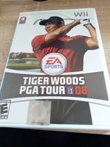 Nintendo Wii Tiger Woods PGA Tour 08 image 1