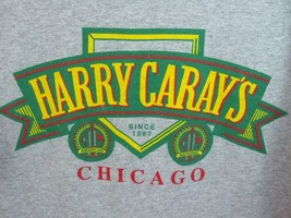 Chicago Cubs Harry Caray's Steakhouse Gray T-Shirt Vacation Souvenir New Size M - $9.75