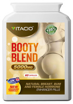 Booty Blend Blend 5000mg Bum Booty Enlargement 60s Pills - $25.16+