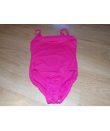 Girls Size Small 6-6X Solid Pink Freestyle Danskin Dance Gymnastics Leot... - $15.00