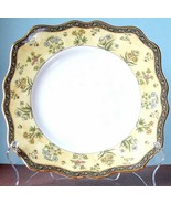 "Wedgwood India Square Salad Dessert Plate 8.25"" Scalloped Edge New - $49.90"