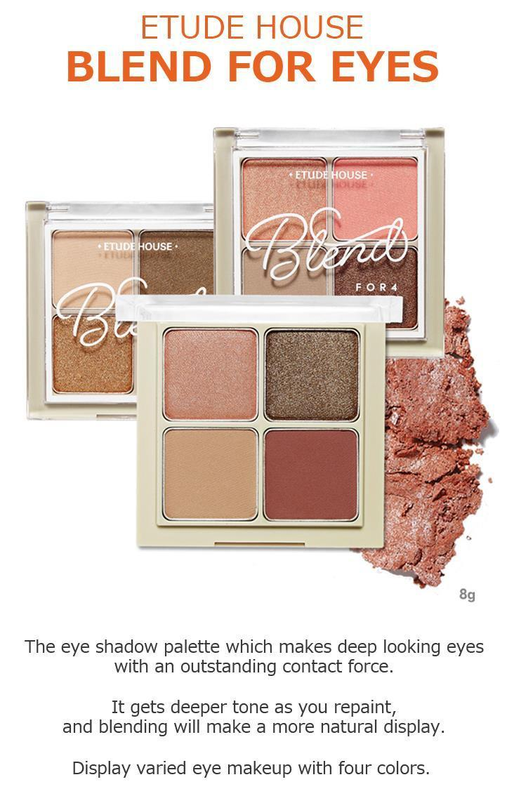 Etude House ETUDE HOUSE Blend For Eyes Eye Shadow Palette #6 Blooming Coral / Ey