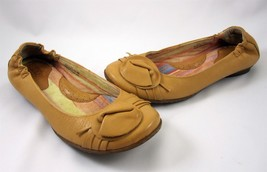 Born Shoes Size 6.5 Daffodil Women's Loafers Ballet Flats Tan Beige Leather - $39.99