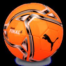 Puma teamFinal 21.6 MS Ball Soccer Football Orange 08331107 Size 5 - $45.99