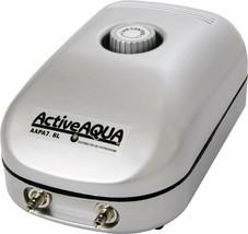 Hydrofarm Active Aqua Air Pump with 2 Outlets, 3W, 7.8 Lmin, 125 GPH | AAPA7.8L - $32.08