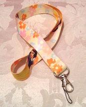 Disney Princess Snow White Lanyard Strap One Piece Cell Phone Key Chain NEW - $6.00
