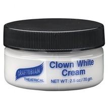 Graftobian Clown White Cream 2.5 oz.