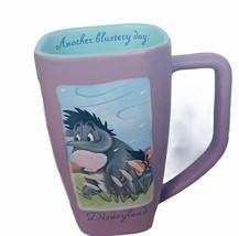 Walt Disney Mug cup Store World Disneyland Eeyore Winnie Pooh flustery d... - $28.98
