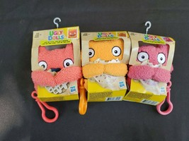 Ugly Dolls Plush Keys Chains, Bundle Of 3, New, Free Shipping. - $15.49