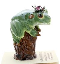 Hagen-Renaker Miniature Tree Frog Figurine Birthstone Prince 02 February image 2