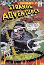 Strange Adventures Comic Book #186 DC Comics 1966 FINE+/VERY FINE- - $28.94