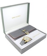 Gino Milano Women's Matching Watch And Wallet Gift Set - Grey - $50.45