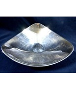 VINTAGE MID CENTURY REED & BARTON TRIANGLE SILVER PLATE BOWL 251 - $39.60