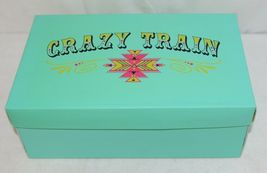 Crazy Train RUNWILD14 Black Red Cheetah Sneakers Size Ten image 9