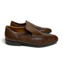 Clarks Brown Slip On Loafer Shoes Size 14 - $44.45