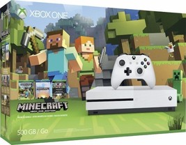 Microsoft Xbox One S Minecraft Favorites Bundle (500GB) - $249.99