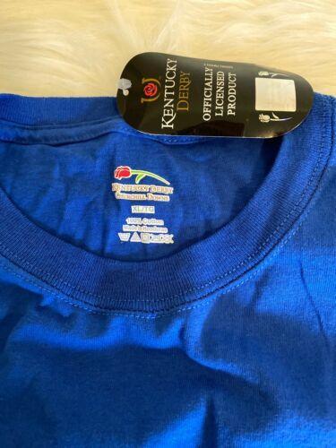 Bonanza May 2011: Blue Kentucky Derby 137 XL T Shirt Churchill Downs May 7