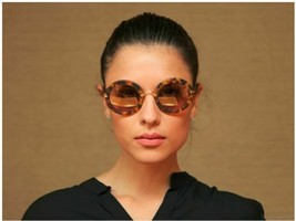 Miu Miu Women's Sunglasses MU13NS UA54M2 Sand Ligth Havana/Pink Mirror Gold Lens - $162.96