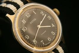 Rare vintage 1960's Soviet, serviced, Vostok 17 jewel USSR military wris... - $84.15