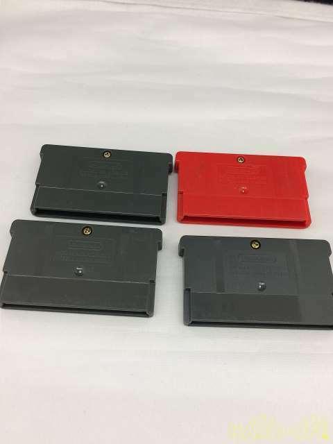 Nintendo Gba Software Set 4 Pieces Game Boy Advance