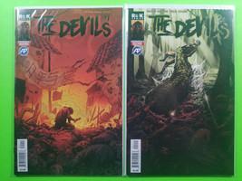 The Devils #1 & 2 First Print Set Antarctic Press ROK Comics 2019 - $19.80