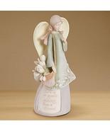 "Foundations Friend Angel Stone Resin Figurine, 7.5"" - $28.10"
