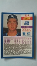 Kevin Appier 1990 Score Rookie Card #625 Kansas City Royals Free Shipping image 2