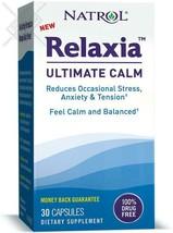 Natrol Relaxia Ultimate Calm, Stress Relief, Capsules, 30 Capsules - $22.70