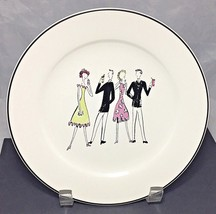 """Rossana salad desert 8"""" plate A Women's Work is Never Done -  Cocktail P... - $5.40"""