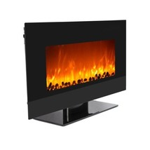 """WOLFIRE® 35"""" Wall Mount Electric Fireplace Adjustable Heater Standing w/... - $549.00"""