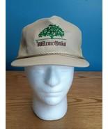 Vintage Wilcox Oaks Golf Club Hat Cap Strapback CA Rope Trim - $19.75