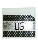 Dolce&Gabbana Dolce & Gabbana Black & White Leather Card Holder Wallet  - $94.00