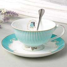 Ceramic Tea Cup Coffee Set Designer Bone China Coffee Porcelain Wedding ... - $31.65