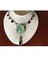 New AIGS Certified Huge 379 ct green beryl &Tourmaline diamond Platinum necklace - $549,999.99