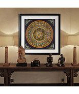 Art Oil Painting Nepal faith Buddha canvas No Frame - $22.99+