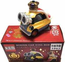 USJ Universal Studios Japan Tomica Minion Car King Bob Limited Edition 2020 New - $39.86
