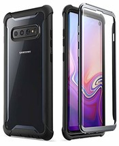 Samsung Galaxy S10 Case, i-Blason [Ares Series] Full-Body Rugged Clear Bumper Ca - $34.39