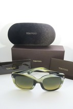 a9043ef3a2e2 Tom Ford Women's Green Sunglasses with box Christophe TF 279 62F 53mm