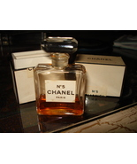 VINTAGE CHANEL NO. 5 T.P.M. EXTRAIT FRANCE PERFUME PARFUM BOTTLE in BOX - $59.95