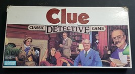 Vintage 1986 Original Clue Detective Board Game - 100% Complete! Good Condition - $22.28