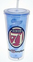Disney Mickey Mouse Magic Kingdom 45th Anniversary Tumbler with Straw And Lid - $24.70