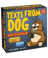 Texts from Dog 2020 Day-to-Day Calendar Jones, October - $3.87