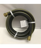 Teknor Apex Utility Garden Hose Black/Yellow - 15 ft length x 5/8 in dia... - $49.99