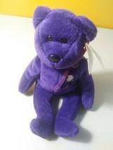 TY Beanie Baby - PRINCESS DIANA the Purple Teddy Bear (1997 -RETIRED) MW... - $98.99