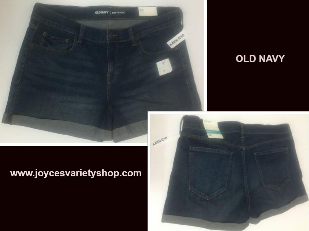 Old navy boyfriend shorts 12 web collage